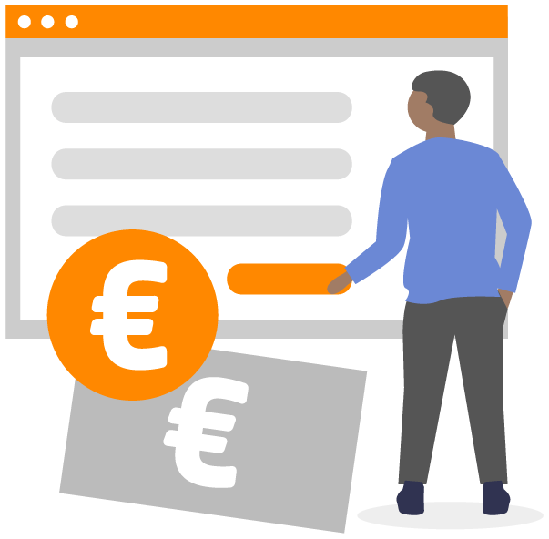 Pagespeed Optimierung - Chart mit Euro Zeichen